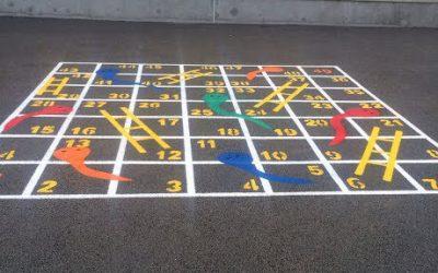 New Playground Markings!