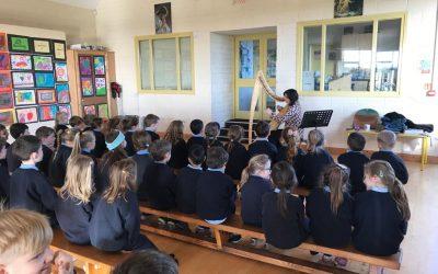 Creative Schools Harpist Workshop 2019