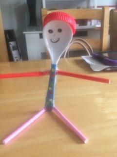 Spoony- Junk art creation