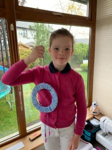 Winner of Make your own Suncatcher Competition
