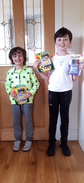 Prizewinners from School Website Writing competition