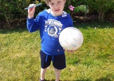 Maths Trail: A footballer is heavier than a pencil