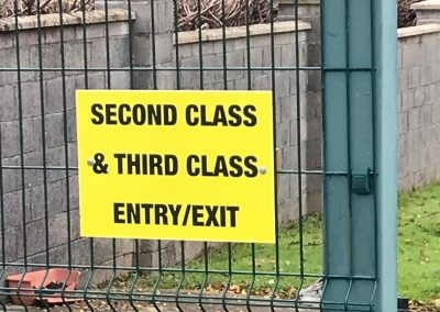 Entry/ Exit - 2nd & 3rd Class