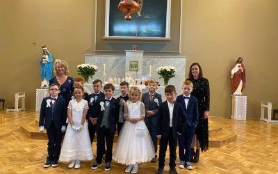 Crehana N.S. First Holy Communion 12th September 2020