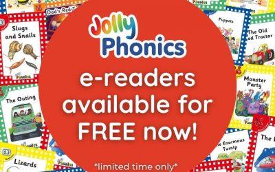Jolly Phonics- Free access to e readers