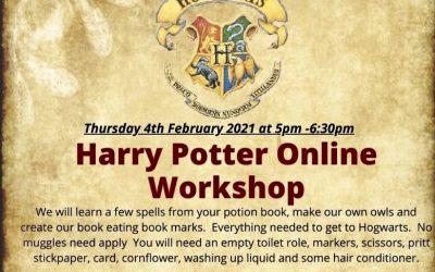 Harry Potter Online Workshop 4th February