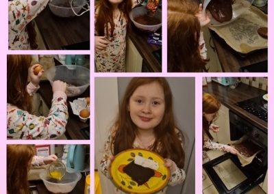 """Baking of """"Rolo Brownies"""""""