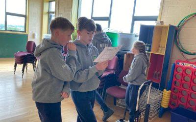 Crehana N.S. Activity Week – 5th & 6th Class Orienteering