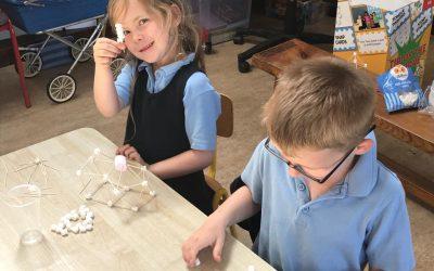 Crehana N.S. Activity Week- Junior Infants Marshmallow Constructions