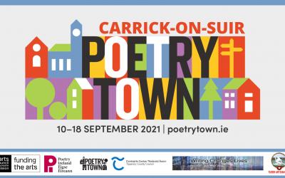Poetry Town Week Friday September 10 – Saturday September 18